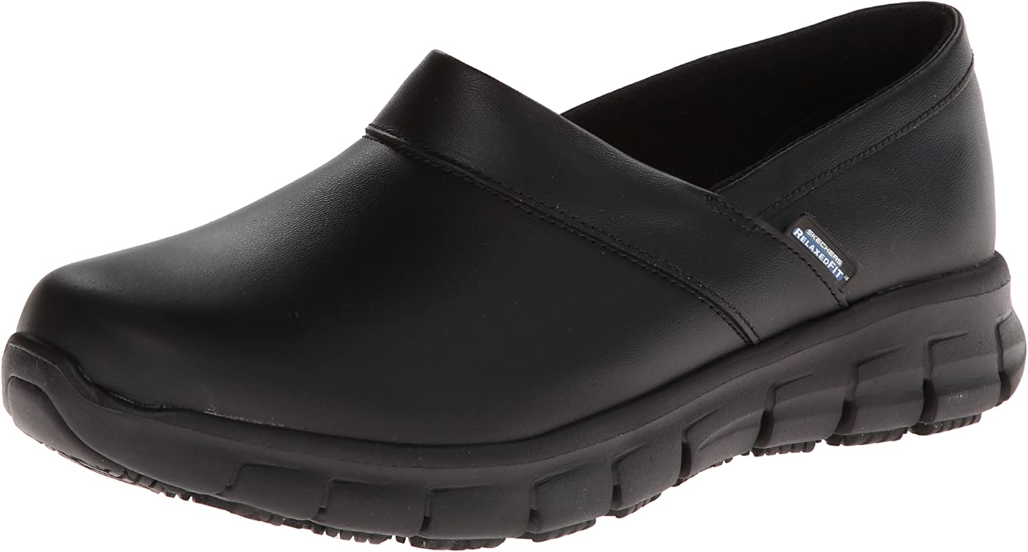Amazon.com: Skechers for Work Women's Relaxed Fit Slip Resistant ...