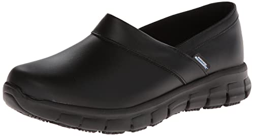 look good shoes sale check out favorable price Skechers for Work Women's Relaxed Fit Slip Resistant Work Shoe