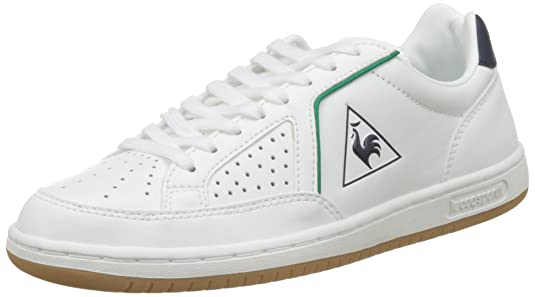 Le Coq Sportif Icons Lea Sport Gum, Unisex Adults' Bass Trainers White/Blue by Le Coq Sportif
