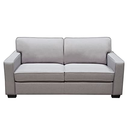 Amazon.com: Diamond Furniture WATSONSOLG Watson Sofa in ...