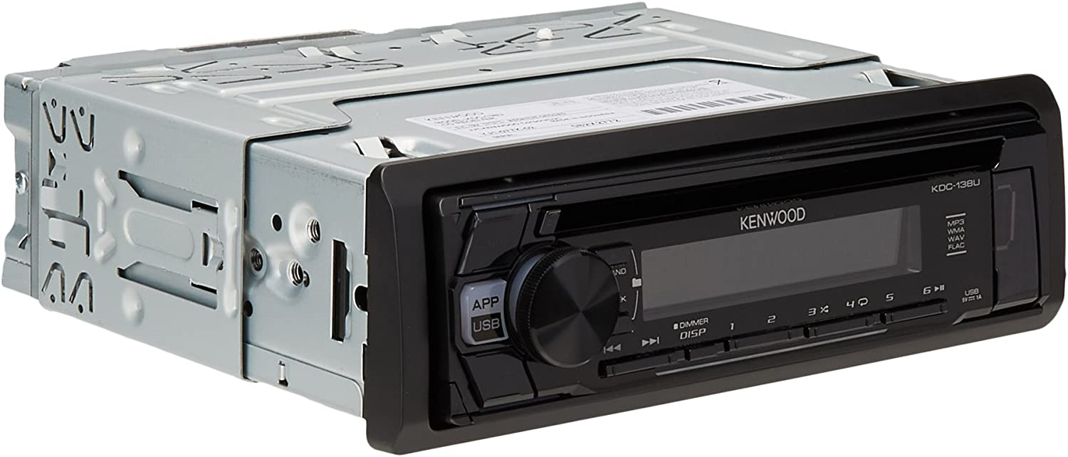 [DIAGRAM_1JK]  Amazon.com: Kenwood KDC-168U In-Dash 1-DIN CD Car Stereo Receiver with  Front USB Input | Kenwood Model Kdc Mp 445u Wiring Diagram |  | Amazon.com