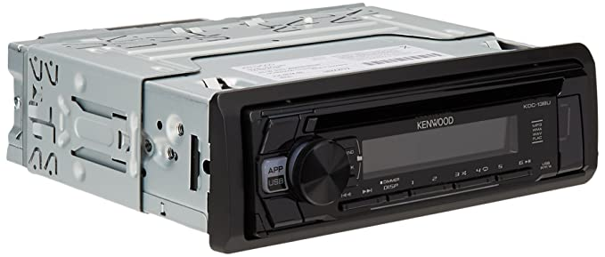 kenwood kdc 168u in dash 1 din cd car stereo receiver with front usb input Kenwood Kdc 122 Wiring Diagram 138