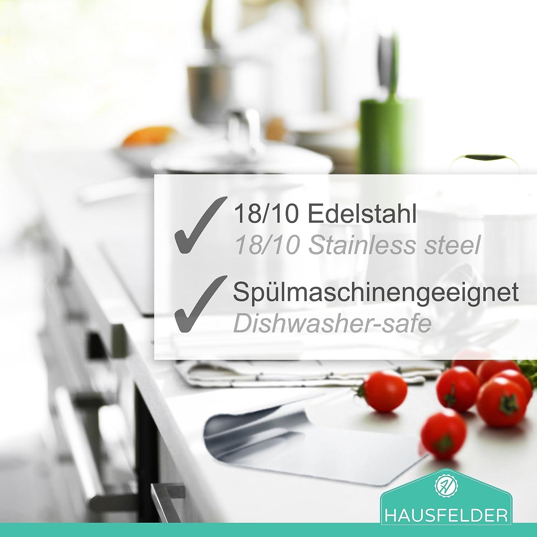 Hausfelder VIELZWECK-KÜCHENHELFER aus 18/10 Edelstahl ...