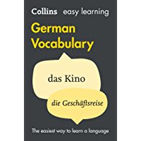 Easy Learning German Vocabulary (Collins Easy Learning German) (German Edition)