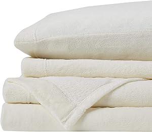 True North by Sleep Philosophy BL20-0448 Premier Comfort Soloft Sheet Set King Cream, Ivory