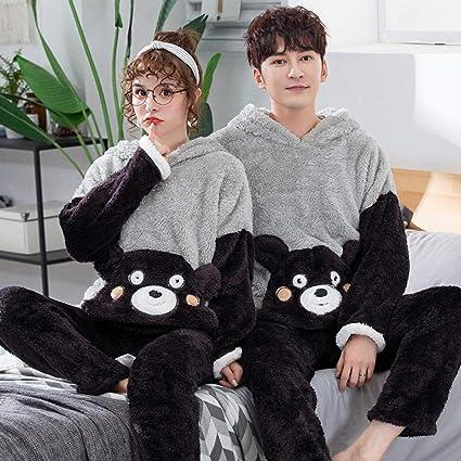 Bayrick Pijamas Mujer Invierno Polar,Cute Dibujos Animados ...