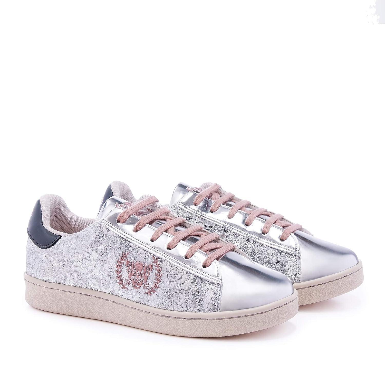 Xyon Revolution Flamingo Sneakers Zapatilla Deportiva con Cordones Mujer: Amazon.es: Zapatos y complementos