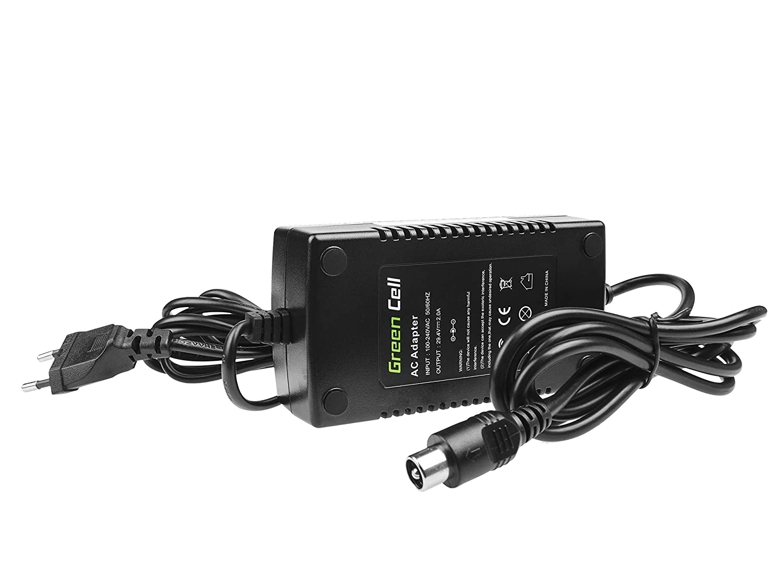 Green Cell® Cargador (29.4V 2A 58W) para Prophete Radrover ...