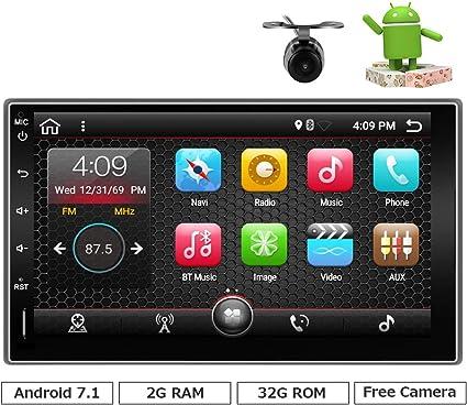 Universal Car Stereo Mit Bluetooth Eunavi 7 2 Din In Elektronik