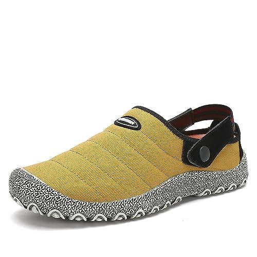 Mujer Verano Spring Lona Zapatos Transpirable Alpargatas Hombre Zapatillas de Estar en casa Hombre Zapatos Casuales Interior y al Aire Libre: Amazon.es: ...