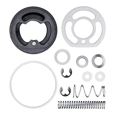 Master Pro 44 Series HVLP Spray Gun Rebuild Kit #1 - for Repair and Maintenance of All Master Pro 44 HVLP Spray Gun Models - Set Contains Spray Head Parts, Seals, Baffle, Spring, Trigger Pivot, Clips: Automotive