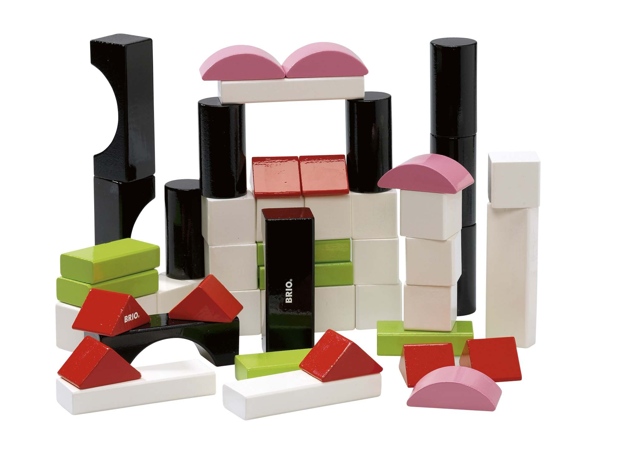 BRIO Colored Blocks- 50 pcs (new colors)