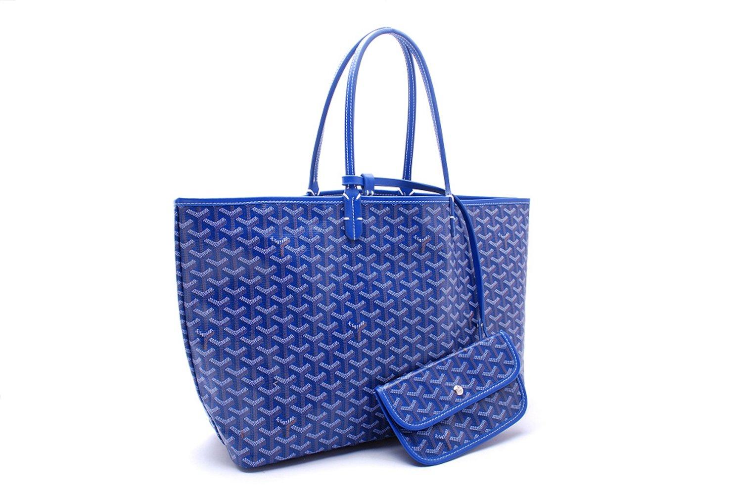 Bagcollector Fashion Shopping Shoulder Tote Bag Set(Blue)