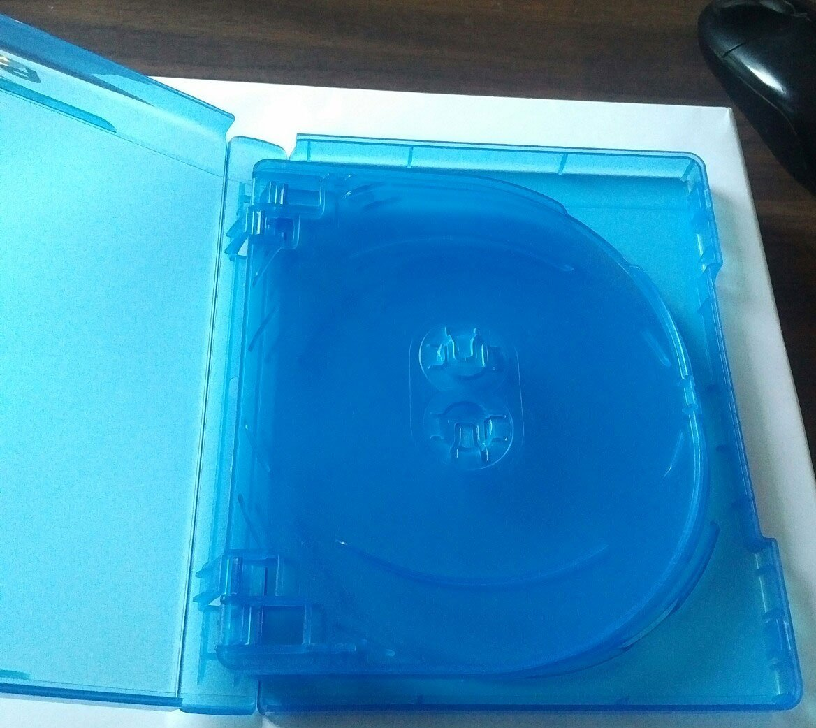NEW! 3 Pk 22 mm VIVA ELITE Blu-Ray Replace Case Hold 5 Discs (5 Tray) Blue