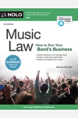 Music Law: How to Run Your Band's Business Paperback