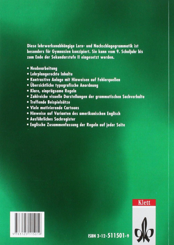 Learning English Grundgrammatik Ausgabe Für Gymnasien