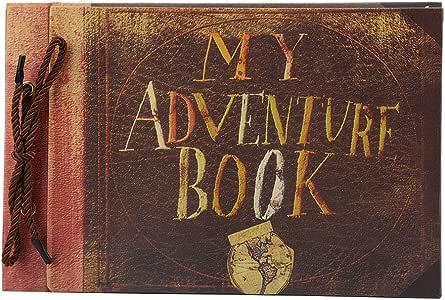 YaeMarine My Adventure Book Photo Album Handmade DIY Scrapbook Album Gift for Family Anniversary Birthday Friends Travel Record Photo Storage