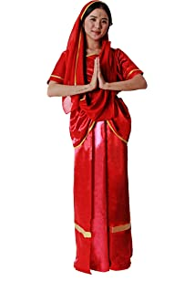 Bristol Novelty AC225 Traje de Bollywood Mujer: Amazon.es ...