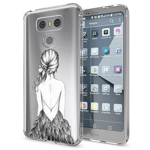 3 opinioni per LG G6 Cover Custodia Protezione di NICA, Silicone Trasparente Sottile Case,