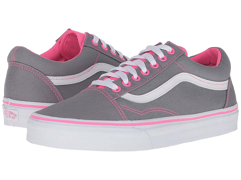 vans pink and grey