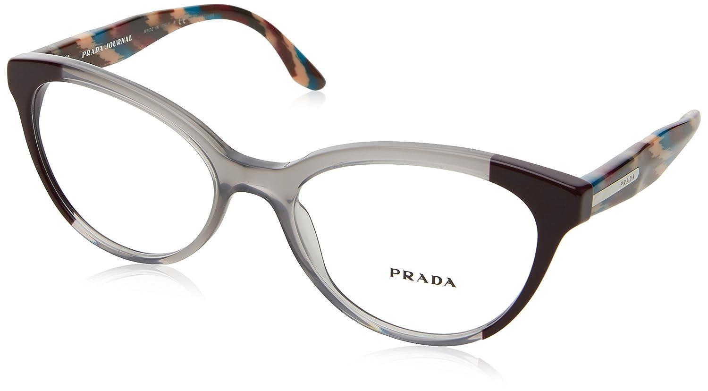 7953b5af3e Prada Women s PR 05UV Eyeglasses 54mm at Amazon Women s Clothing store