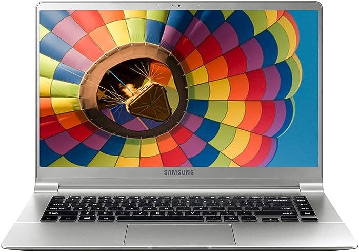 """Samsung Notebook 9 15"""" FHD Intel i7-7500U 3.5GHz 8GB 256GB SSD Webcam Bluetooth Windows 10 Iron Silver"""
