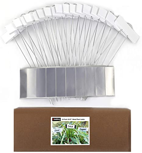 large 5 inch long nursery plant labels YOU CHOOSE COLOR made in the USA 100