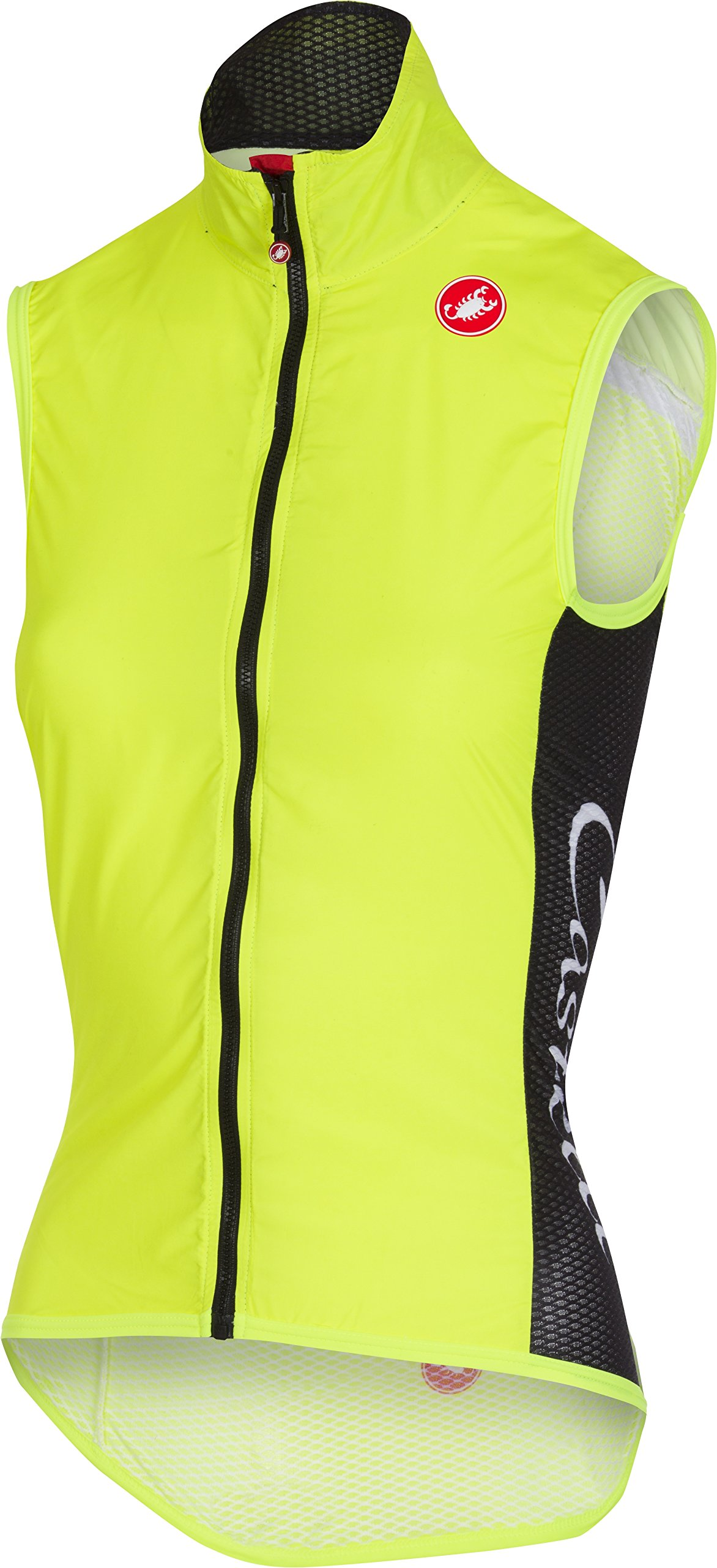 Castelli Pro Light Wind Vest - Women's Yellow Fluo, L