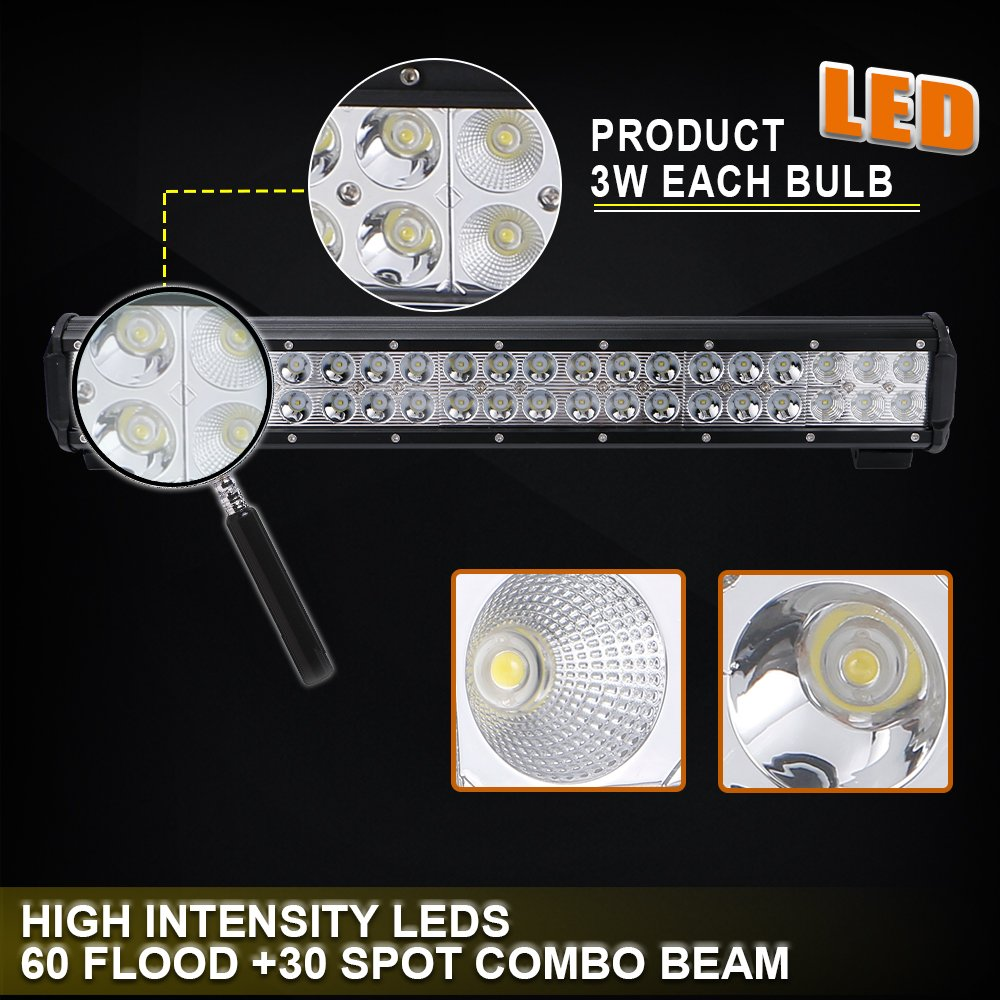 For Dodge Ram Truck Durango Caravan 126w Led Light Bar Wiring Fog Harness Switch Kit