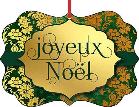 Joyeux Noel Clipart.Amazon Com Jacks Outlet Joyeux Noel Merry Christmas In