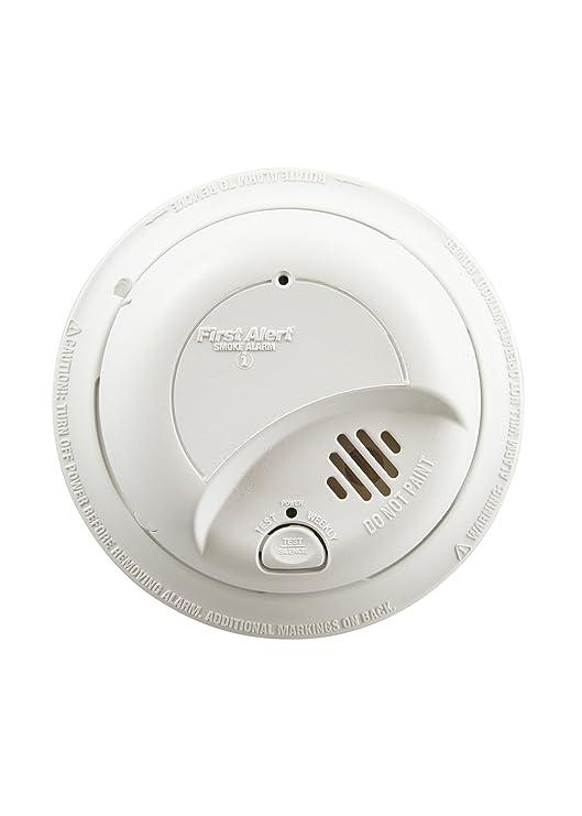amazon com first alert brk 9120b hardwired smoke alarm with battery rh amazon com Firex Smoke Alarm General Electric Smoke Alarms