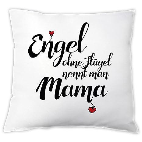 4you Design Cojín Ángel sin alas menciona Man Mama, cojín ...