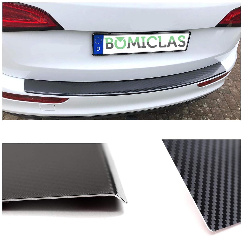 de aluminio con l/ámina de carbono 5D y canto BOMICLAS espec/ífico para el veh/ículo NISSQQB Protector para borde de carga