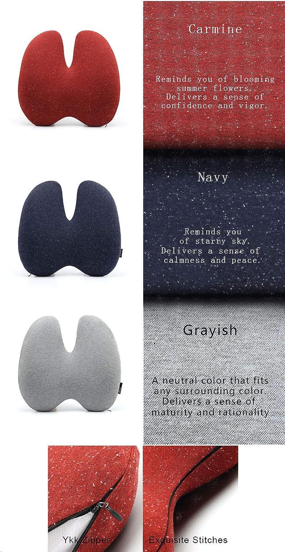 ZYFWBDZ Almohadas de viaje Almohada para la Cintura algodón Espacio Espacio algodón sofá decoración del hogar cojín Almohada Lumbar (40 cm * 40 cm) ...
