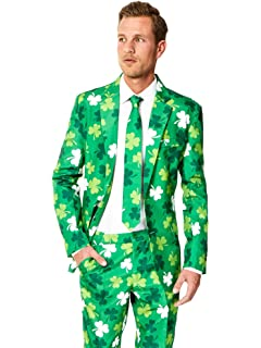 50b7788d Suitmeister USA Themed Suits - St. Patrick - Costume Comes with Jacket,  Pants &
