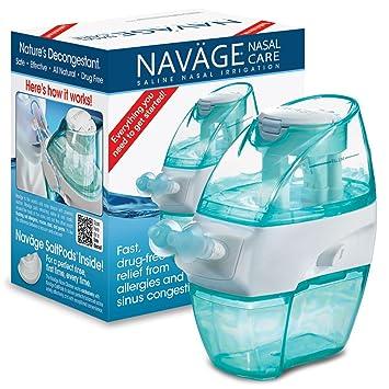 Amazoncom Navage Nasal Irrigation Starter Bundle Navage Nose