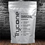 TRYCONE ACTIVATED CHARCOAL POWDER (For Face mask, Teeth whitening & Teeth Cleaning, Skin Treatment, Detoxifies, Helps With Digestion) - 100 GM