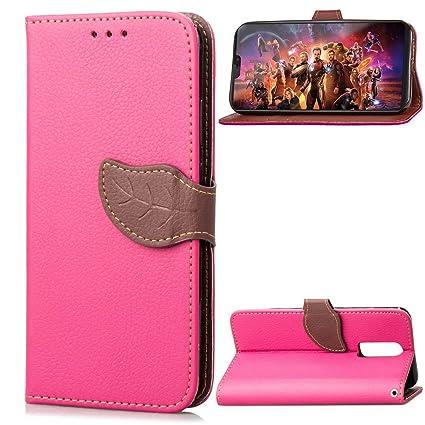 573339cf5a98 Amazon.com: Torubia , OnePlus 6 Case Wallet Leather, OnePlus 6 Case ...