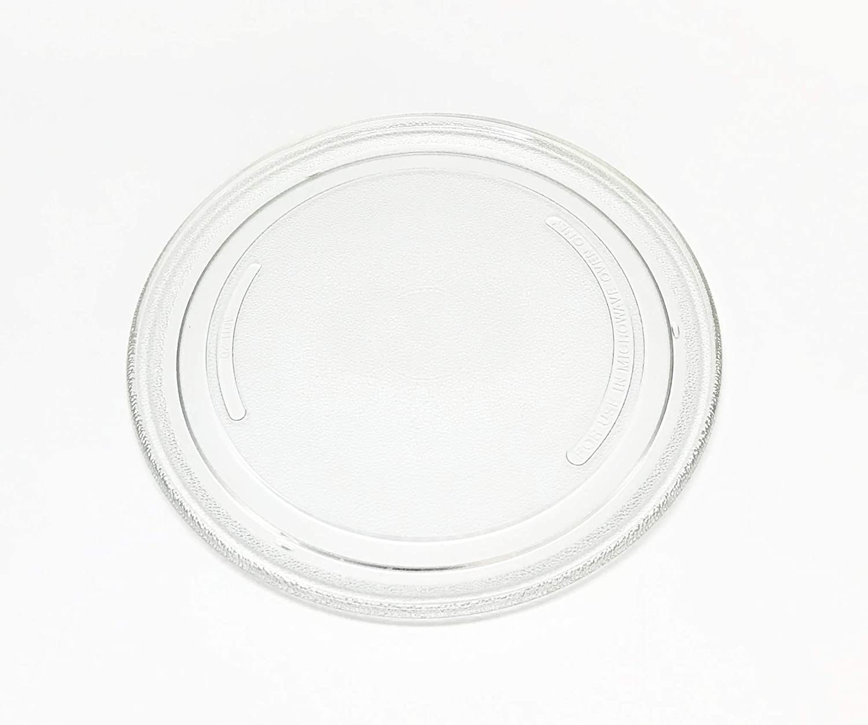 OEM Sharp Microwave Glass Plate Turntable Shipped with R209AK, R-209AK, R209AW, R-209AW, R209KK, R-209KK