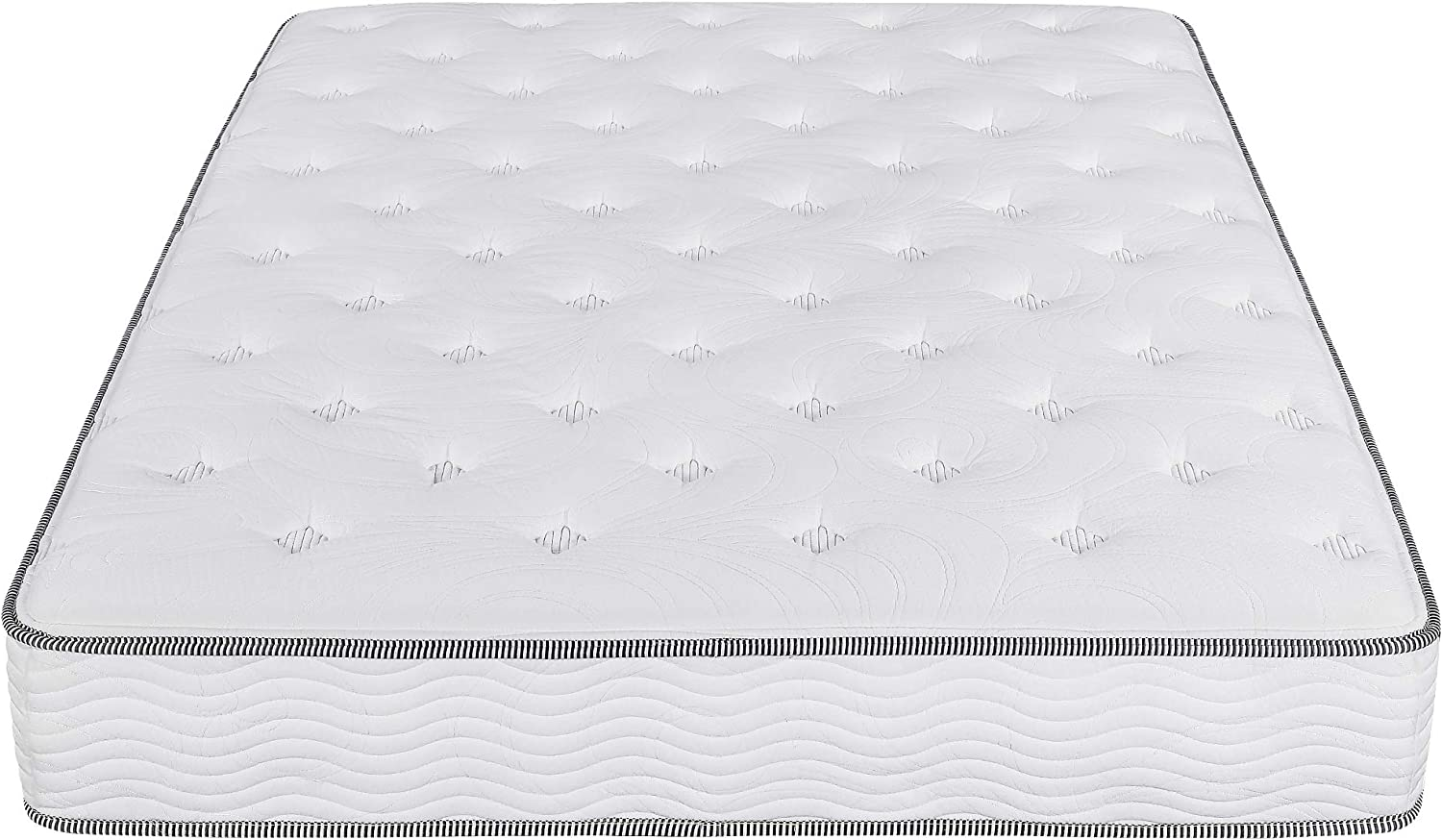Olee Sleep 10 in Milk way Tight Top Spring Mattress Twin 10SM01T