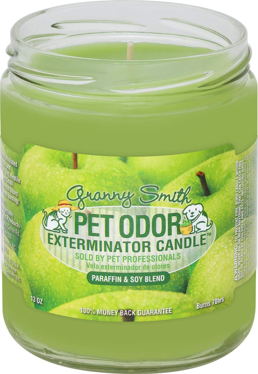 Specialty Pet Products Pet Odor Exterminator Candle, Granny Smith - Pack of 2 by Specialty Pet Products