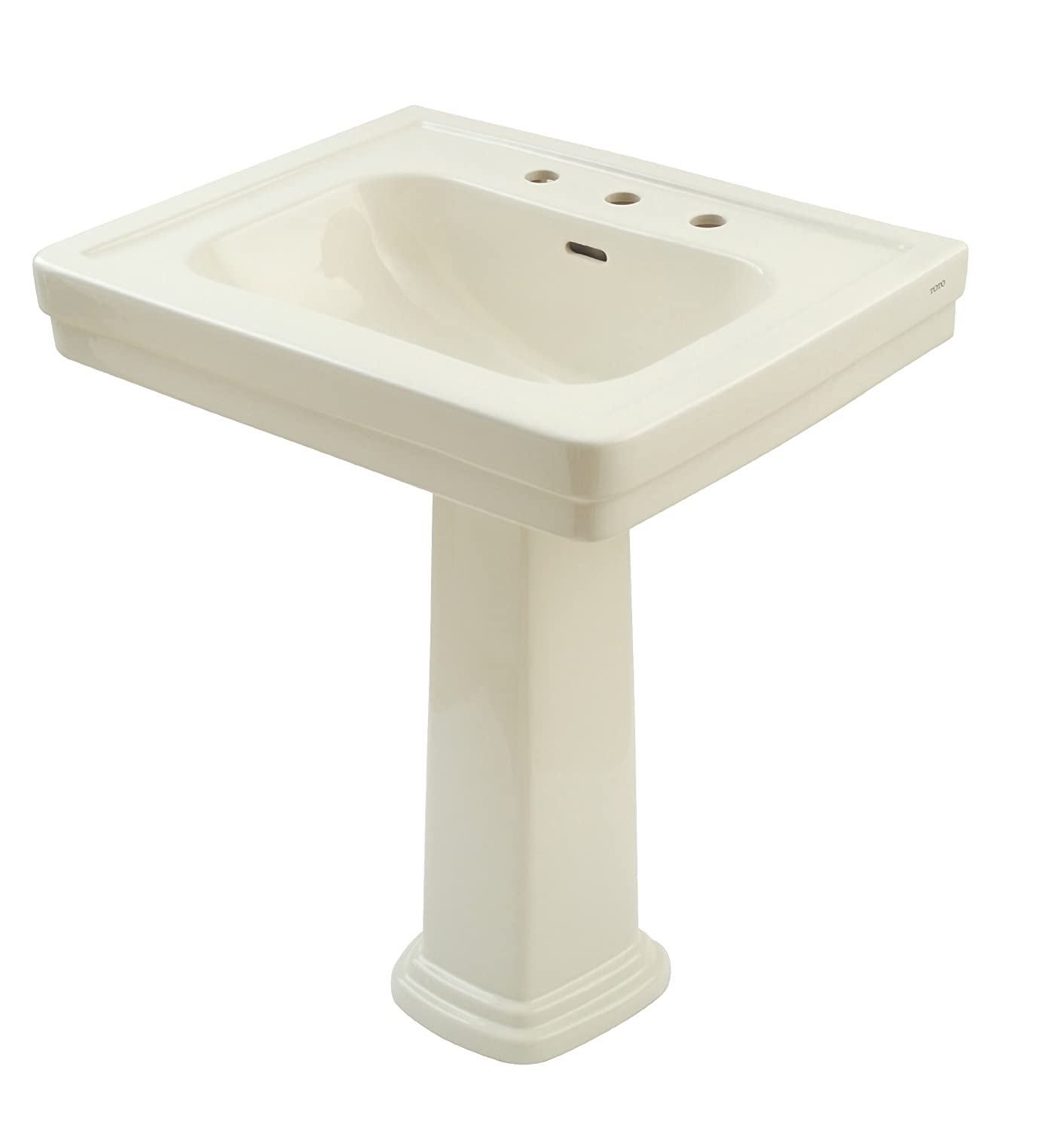 TOTO LPT530.8N#12 Promenade Lavatory and Pedestal with 8-Inch ...