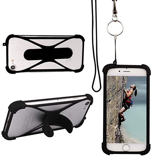 save off 6e222 ff01a Amazon.com: Cell Phone Lanyard Case,YMH 3 in 1 Universal Smartphone ...