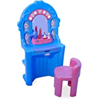 Little Tikes Ice Princess Magic Mirror - Roleplay Vanity with Lights Sounds & Pretend Beauty Accessories, Multicolor, 24…