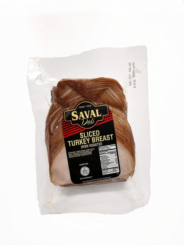 Saval Deli Sliced Turkey - 2 lb.