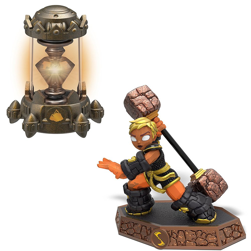 Skylanders Imaginators Master Barbella with Earth Creation Crystal Bundle