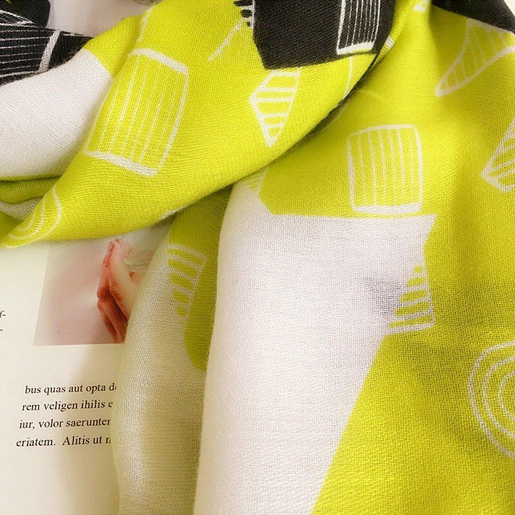 Bufanda Verano sección delgada bufandas de playa toalla de playa salvaje de gran tamaño chal de algodón sunscreen bufanda femenina de doble uso bufanda ...