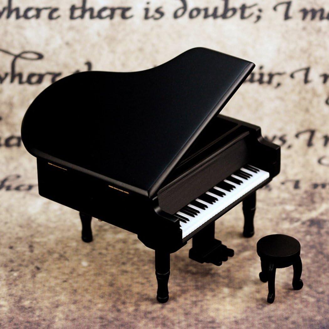 Sound Harbor Piano Model Music Box For Music Lover