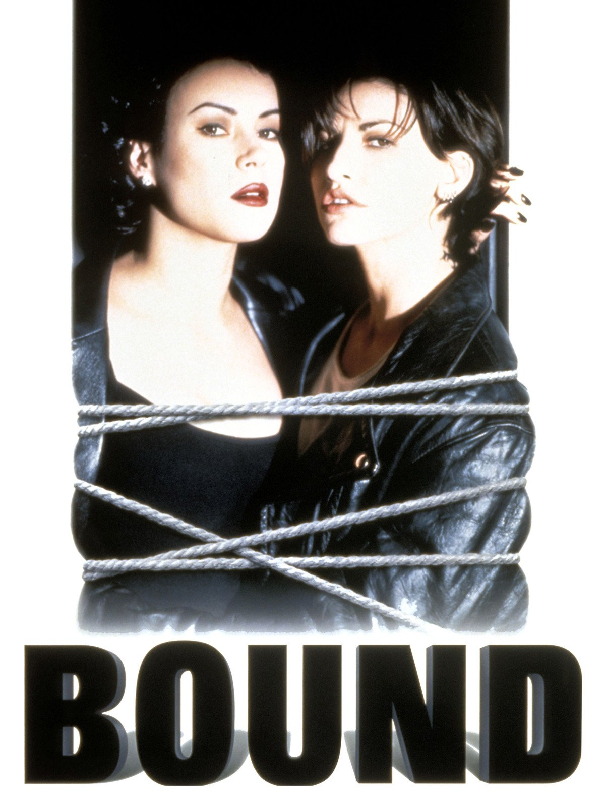 Bound 1996 lesbian sex scene