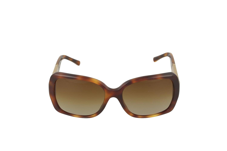 e6a0ed9e3e Amazon.com  Burberry 4160 3316T5 Tortoise 4160 Square Sunglasses Polarised  Lens Category 2  Burberry  Clothing